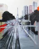 Lignes parisiennes Prints by Arnaud Puig