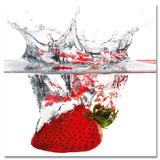 Strawberry Splash - Art Print