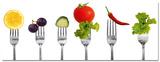 Pierced Vegetables Plakater