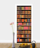 Library Door Wallpaper Mural Wallpaper Mural