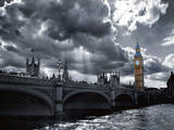 Westminster Bridge from South Bank Prints by Simon Kayne
