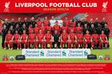 Liverpool - Team 13/14 Print