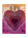 Heart III Prints by Natasha Wescoat