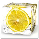 Glaçon au citron Art