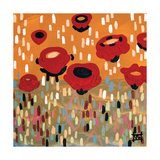 Poppy Lane Giclee Print by Natasha Wescoat