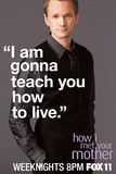 How I Met Your Mother - Barney TV Poster Prints