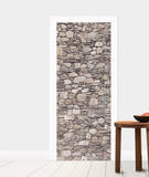 Stone Wall Door Wallpaper Mural Wallpaper Mural