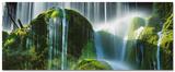 Green Falls Poster van Frank Krahmer