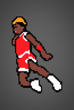 His Airness 8-bit Hall of Fame Plastic Sign Wall Sign