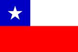 Chile National Flag Plastic Sign Znaki plastikowe