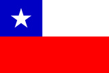 Chile National Flag Plastic Sign Plastic Sign