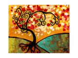 Lush Blossom Tree Affiche par Natasha Wescoat