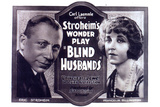 Blind Husbands Movie Sam De Grasse Francelia Billington Plastic Sign Plastic Sign