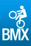 BMX Sports Plastic Sign Wall Sign