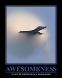 Awesomeness Motivational Poster Plakater