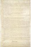U.S. Constitution Page 2 Plastic Sign - Plastik Tabelalar
