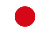Japan National Flag Plastic Sign Plastic Sign