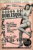 Bettie Page House of Burlesque by Retro-A-Go-Go Poster Photo