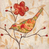 Song Bird Revisited II Print by  Tava Studios