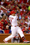 St. Louis, MO - Oct 28: 2013 World Series Game 5, Red Sox v Cardinals Photographic Print by  Elsa