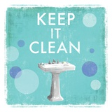 Keep it Clean - Mini Prints by Drako Fontaine