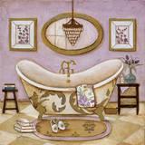 Lavender Bath II Poster by  Tava Studios