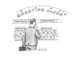 Corporate Greeting Cards - Cartoon Regular Giclee Print by Mike Twohy