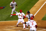 St. Louis, MO - Oct 27: 2013 World Series Game 4, Red Sox v Cardinals Photographic Print by  Elsa