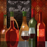 The Wine List II Art by Conrad Knutsen