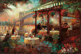 The River Café Prints by Ruane Manning