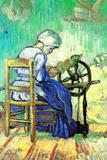 Vincent Van Gogh The Spinner Plastic Sign Plastikskilte