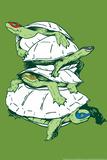 Turtles Snorg Tees Plastic Sign Cartel de plástico por  Snorg