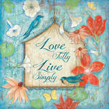 Love Fully Prints by  Tava Studios