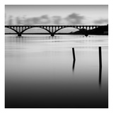 Bridge Reflection - Mini Konst av Shane Settle