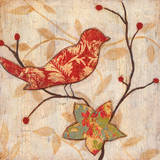 Song Bird Revisited I Prints by  Tava Studios
