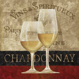 Chardonnay Print by Conrad Knutsen