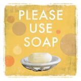 Please Use Soap - Mini Poster di Drako Fontaine