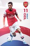 Arsenal - Ozil 2013/2014 Kunstdrucke