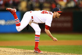 St. Louis, MO - Oct 27: 2013 World Series Game 4, Red Sox v Cardinals Photographic Print by Ronald Martinez