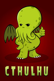 Cthulhu Creature Plastic Sign Plastic Sign