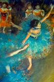 Edgar Degas Dancer Plastic Sign Plastikskilte af Edgar Degas