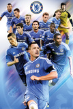 Chelsea Players 2013/2014 Poster