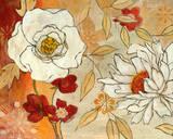 Lush Crimson I Posters by Carol Robinson