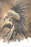 Crow Jane by Gris Grimly Plastic Sign Wall Sign von Gris Grimly