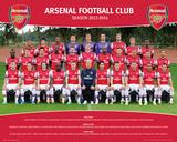 Arsenal - Team 2013/2014 Prints