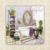 Lavender Scented Bath II Prints by Charlene Olson