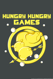 Hungry Hungry Games Snorg Tees Plastic Sign Plastic Sign by  Snorg