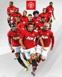 Manchester United - Players 2013/2014 Print