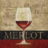 Merlot Prints by Conrad Knutsen