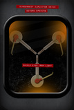 Back to the Future Movie Flux Capacitor Plastic Sign Plastikskilte